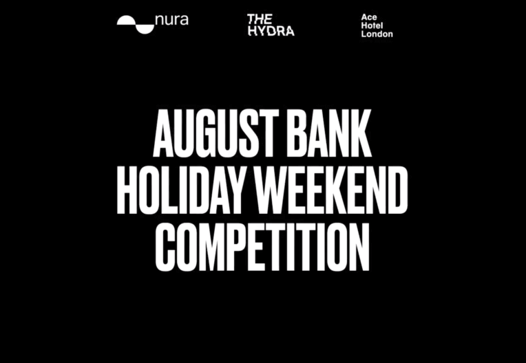 WIN OUR AUGUST BANK HOLIDAY COMPETITION